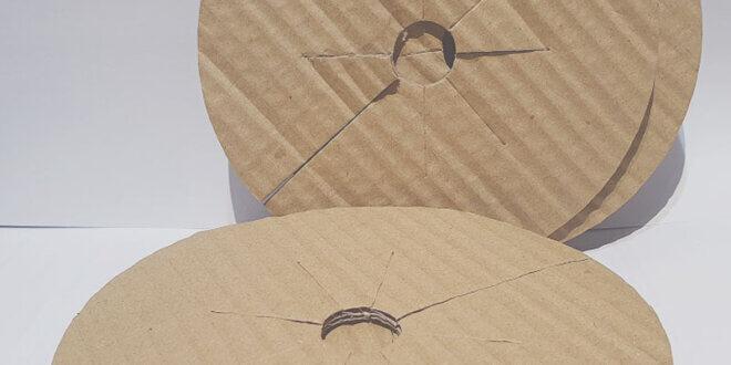 Discuri din carton pentru protectia plantelor